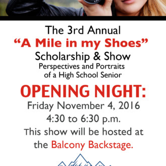 A Mile in My Shoes 2016 Opening Night & More About the Scholarship & Show! Tune in!